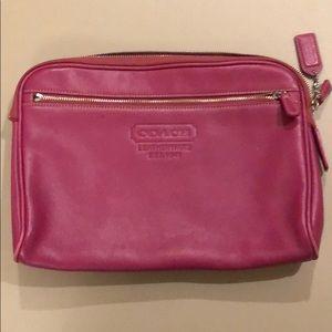 Coach bag/cosmetic case
